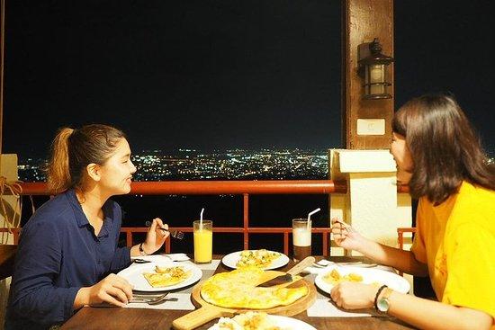 Spa & dîner vue de nuit
