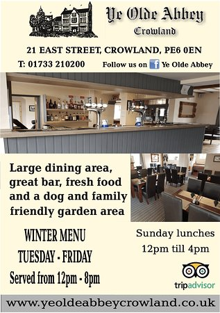 Crowland, UK: Our new advertisement