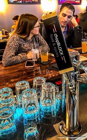 Gainesville, GA: Signiture Beer chopBLOCK food & spirits