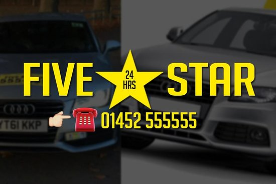‪Five Star Taxis & Airport Transfers Gloucester‬