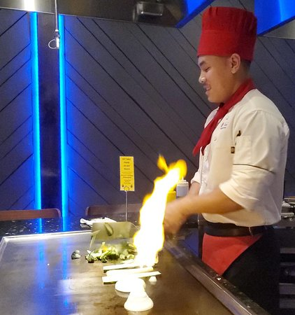 Hibachi at Sushi Spot