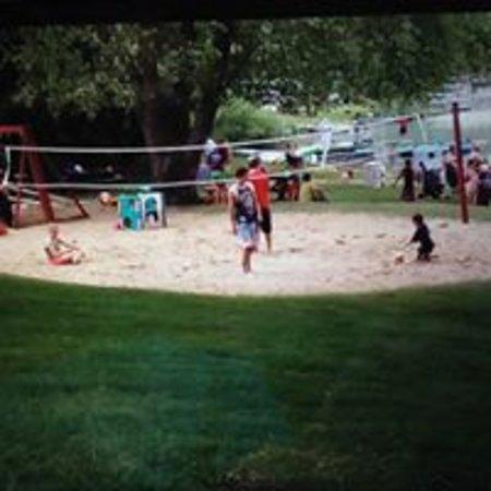 Hopkins, MI: Volleyball Court