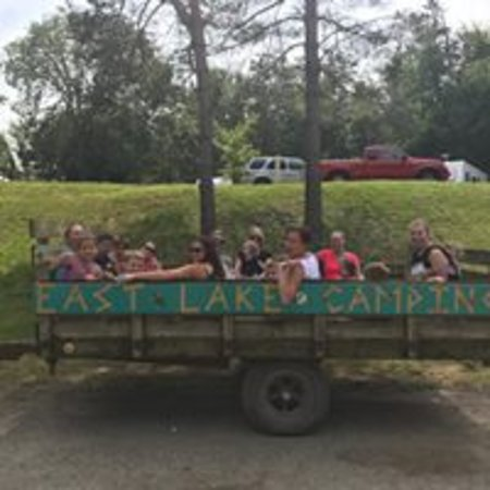 Hopkins, MI: Hay Wagon Ride