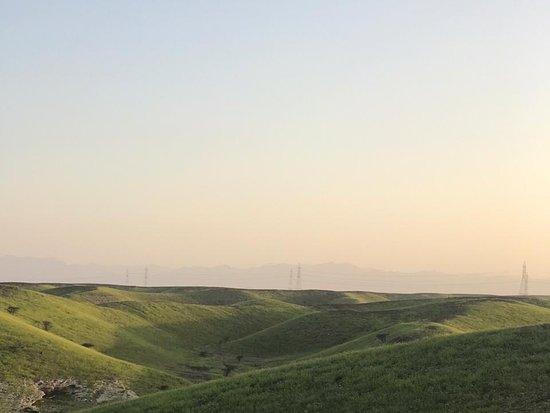 Al Khaburah, Oman: قرية الحمض بولاية الخابوره هذا المنظر بعد الامطار الأخيرة لله الحمد