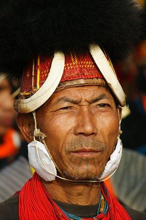 Sagaing Region, Birma: Naga Tribe !!!