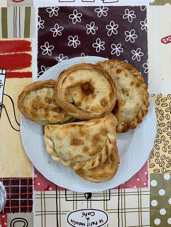 Plato con empanadas