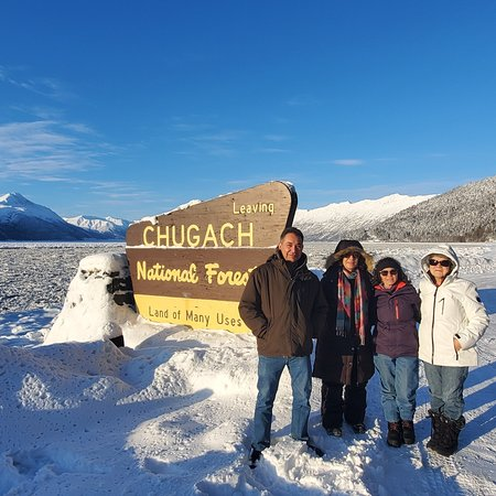 On of the stops on the Turnagain arm waterway