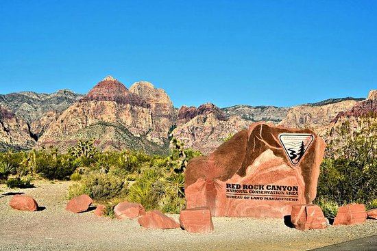 Red Rock Canyon och Seven Magic ...