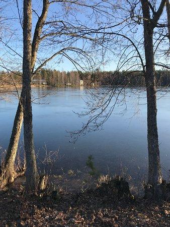Siltakyla, ฟินแลนด์: Рядом.....
