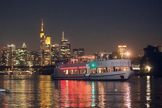Frankfurt Bootsfahrt mit Abendessen...