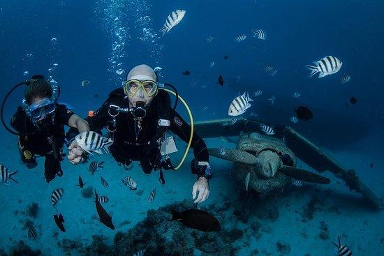 Immersione subacquea introduttiva di Tahiti