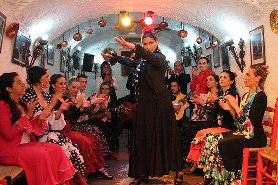 Spettacolo di flamenco del Sacromonte
