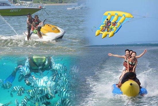 Forfait sports nautiques d'une demi-journée sur l'île de Serangan