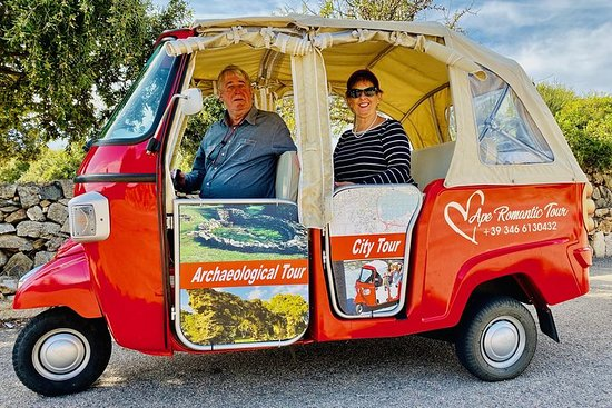 Tour of Olbia in Tuk Tuk (Complete)