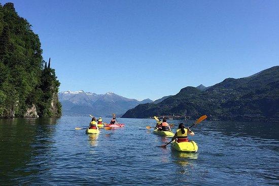 Recorrido en kayak por el lago Como...