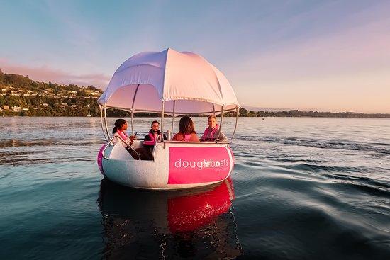 Doughboats Lake Taupo