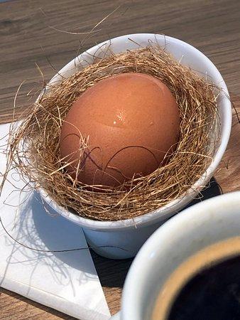朝食のゆで卵