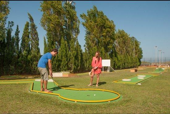 Playa de Pals, Spanien: Mini Golf