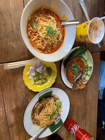 Heartwarming thai food.