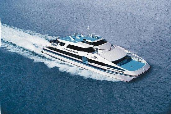 Servicio de ida y vuelta en ferry en...