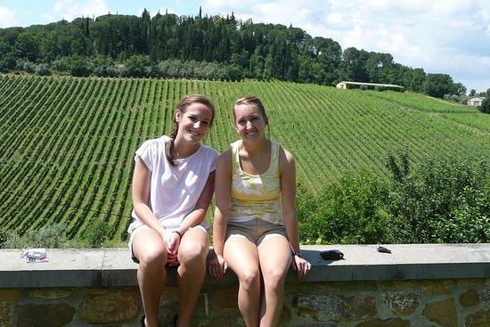 Super toscanske vine og etruskiske...