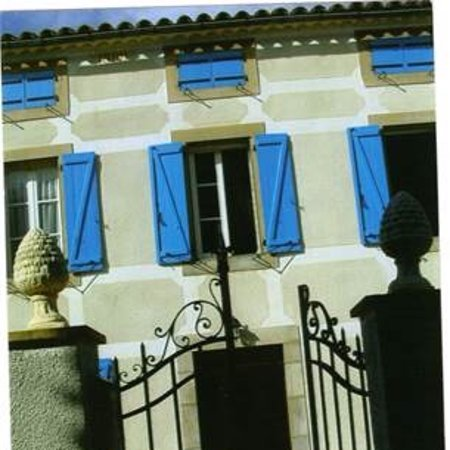 Blue Shutters in BRugairolles, France.   Limoux 7km Carcassonne 15km Toulouse Blagnac Airport 63km