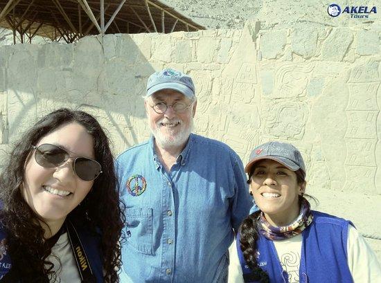 Casma, פרו: Tour arqueológico, visitando Sechín en Casma