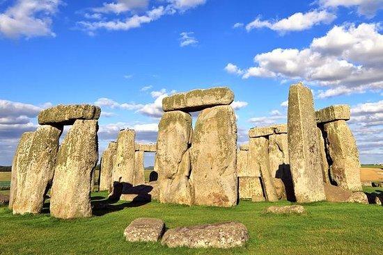 Stonehenge em um serviço de veículo...