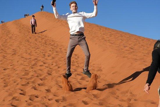 Namibië Wildlife en culturele ...