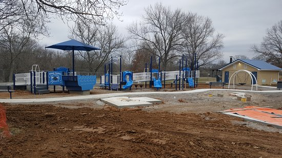 Chapel Hill, TN: New playground under construction, to open spring 2020.