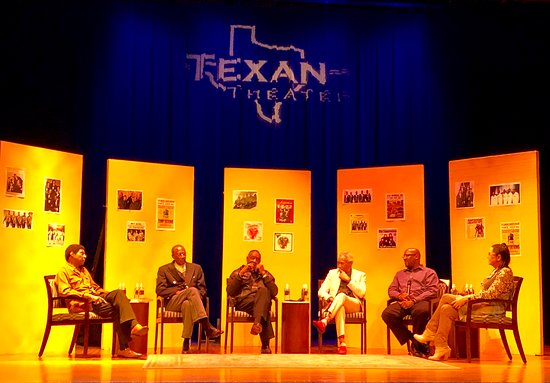 An evening with the Temptations. How great is that? Only at the TEXAN!