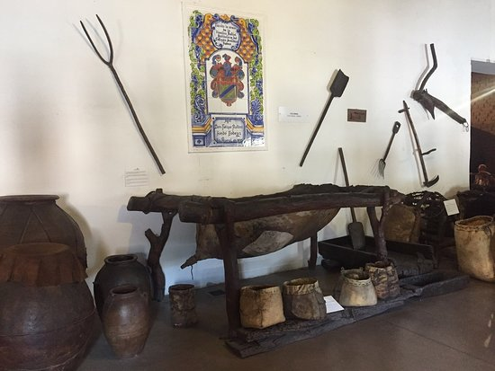 Equipment used in the wine making process, dating back to the 1500s