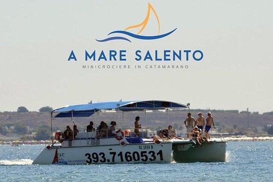 浮潛和典型開胃酒的迷你游輪到切薩雷奧港