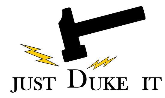 Just Duke It logo