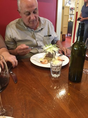 Romsey, Úc: Steak cooked to perfection