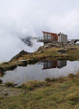 Saas-Almagell, Suiza: Bergrestaurant Heidbodme
