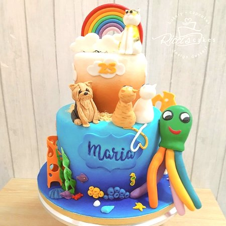 Little Animals Cake