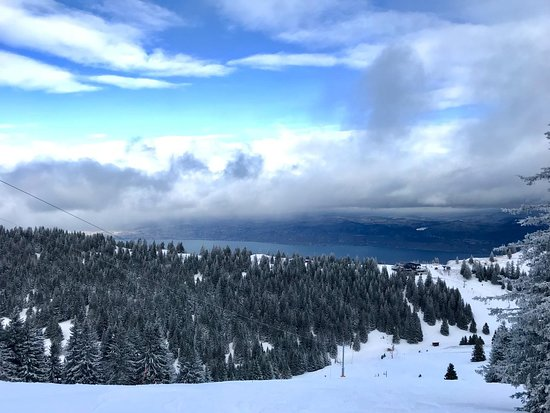 Verbier, Switzerland: Esqui a tope