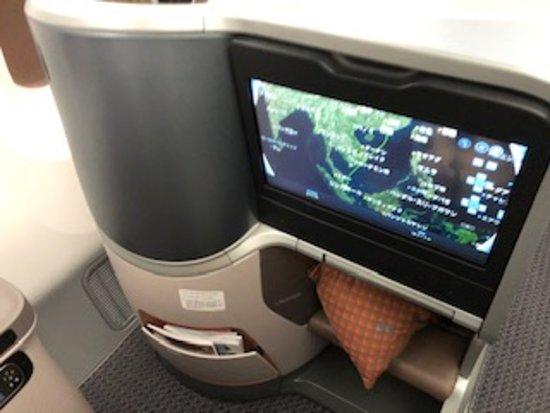 Singapore Airlines: ビジネスクラス