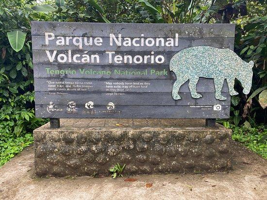 Buena Vista, Costa Rica: Sign