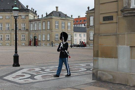 Королевская лейб-гвардия (дат. Den Kongelige Livgarde) — стрелковый полк датской армии, основанный в 1658 году королём Фредериком III. Полк выступает в двух ролях: в качестве передовой боевой единицы, а также в качестве охранного и церемониального подразделения датской монархии.Королевская лейб-гвардия обеспечивает постоянный караул у дворца Амалиенборг(Копенгаген).Если вы находитесь в Копенгагене, то вам нужно посмотреть на это действие, как на одно из достопримечательностей города.