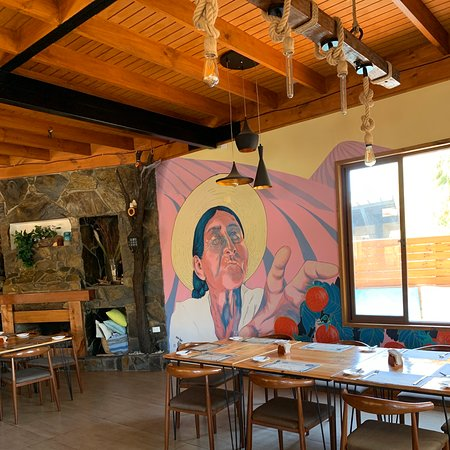 San Pedro, Chile: Salon Piedra Madero Restaurante