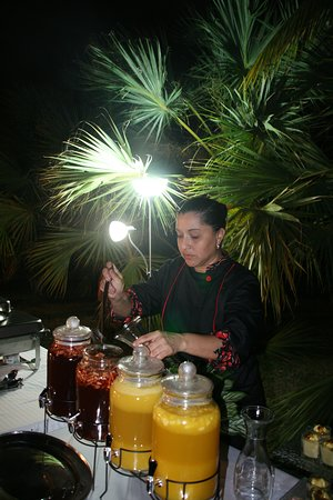 Chame, Panama: services de buffet