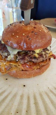 Philly Steak Cheeseburger