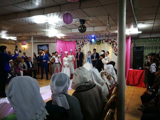 Kasach wedding