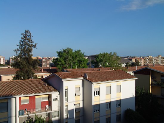 Panorama dalla stanza