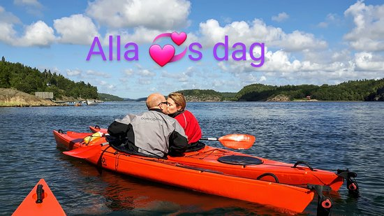 Outdoor West Sweden: Happy Valentine's  Kayak tours Saturdays(4hrs) and Sundays (3hrs) in February.