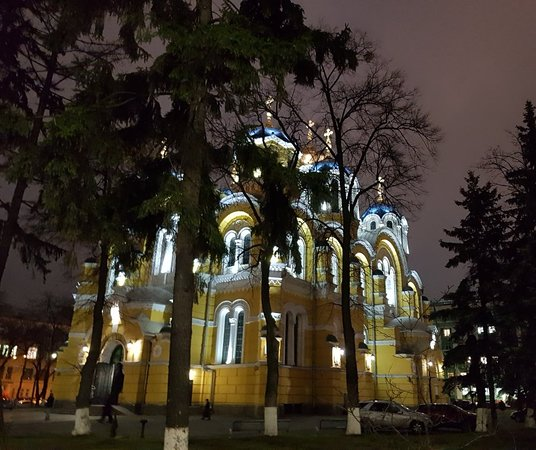 St Volodymyr's Cathedral in Shevchenkivs'Kyi district