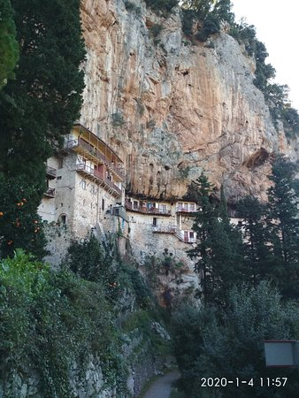 Stemnitsa, Yunanistan: Interesting Monastery
