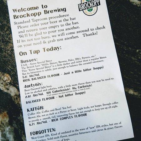 Brockopp Brewing